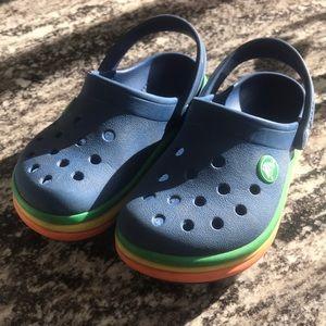 Croc water shoes boys